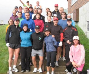 Members Of The Nautilus Run Club and R41P Before Their Run